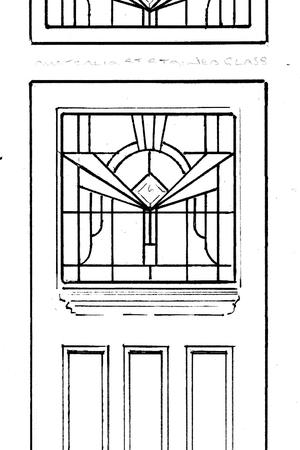 Deco door set sketch
