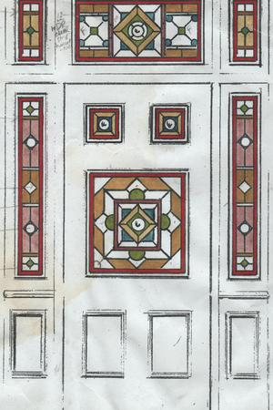 Linda, Front door design sketch, Killara